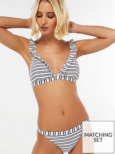 accessorize-nautical-ruffle-triangle-bikini-top-navy