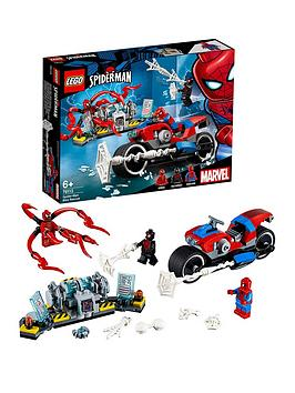 lego-super-heroes-76113nbspspider-man-bike-rescue