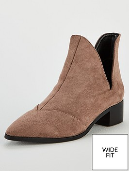 lost-ink-gray-wide-fit-flat-ankle-boot-with-v-cut-grey