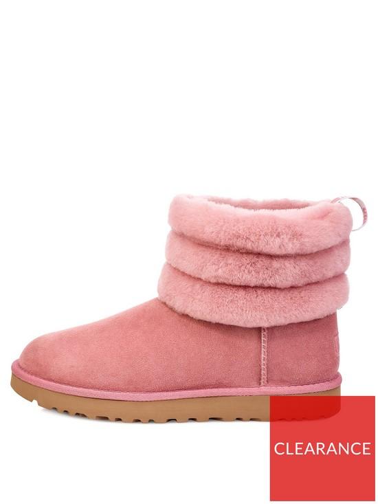 1b8d7a4d11d Fluff Mini Quilted Boots - Pink Dawn