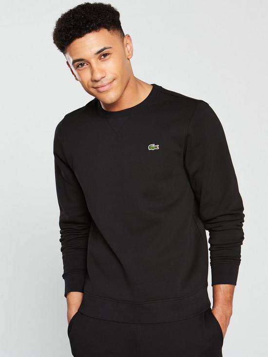 7df002b4e Lacoste Sweatshirt - Black