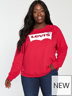 levis-plus-relaxed-graphic-crew-red