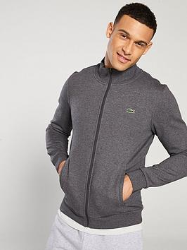 lacoste-funnel-neck-zip-sweat-top-grey
