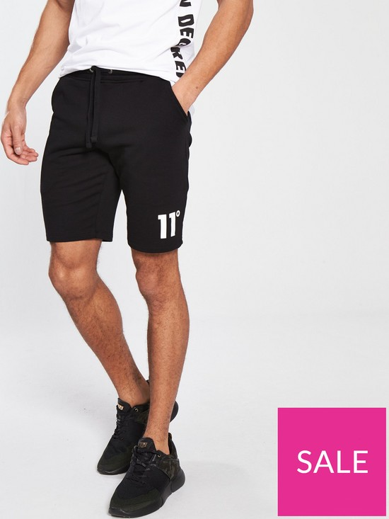 a19f39d85e 11 Degrees Core Sweat Shorts | very.co.uk