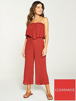 v-by-very-frill-bandeau-beach-jumpsuit-terracotta