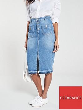 v-by-very-split-front-denim-midi-skirt-mid-wash