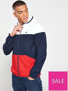 lacoste-hooded-jacket-rednavywhite