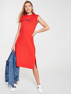 tommy-jeans-logo-tank-dress-red