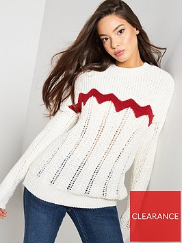 v-by-very-chevron-stitch-detail-jumper