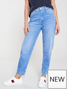 tommy-jeans-high-rise-tapered-jean-blue