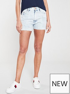 tommy-jeans-denim-short-blue