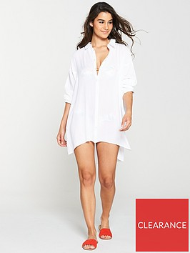 v-by-very-long-sleeve-crinkle-beach-shirt-white
