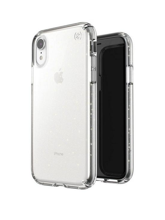 brand new cba1b d6274 Presidio Clear and Glitter Case for iPhone XR - Clear