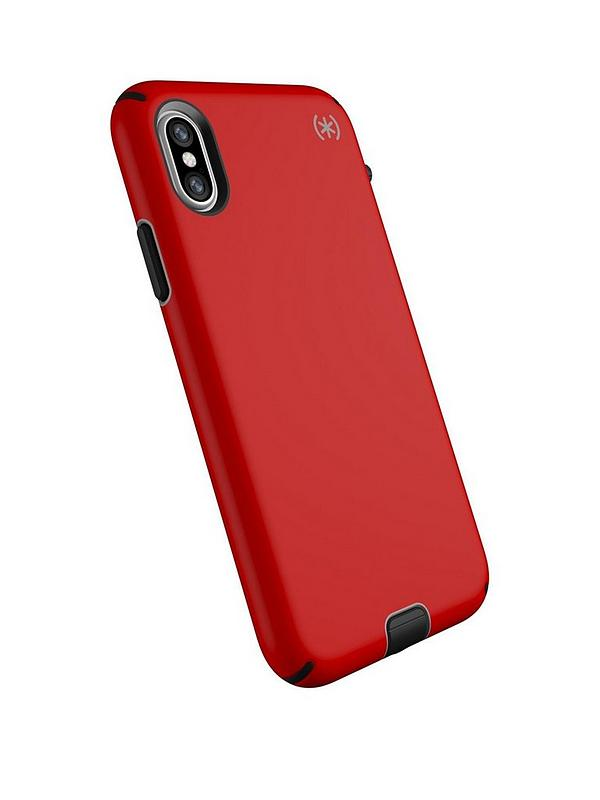 the best attitude 91b3a c034e Presidio Sport Case for iPhone X/XS - Heartrate Red/Sidewalk Grey/Black