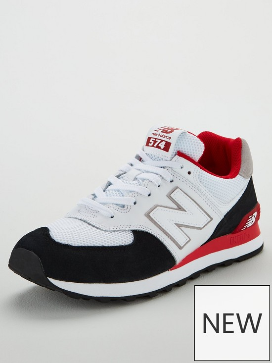 new product 6d3ad b1276 574 - White/Black/Red