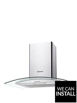 candy-cgm641x-60cmnbspchimney-hood-with-optional-installation-stainless-steel