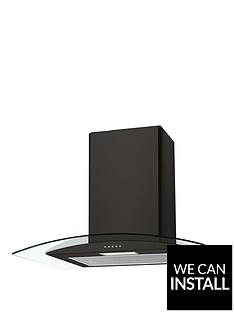 candy-cgm641n-60cmnbspchimney-hood-with-optional-installation-black