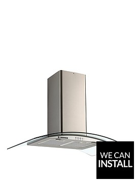 hoover-hgm900x-90cmnbspwide-chimney-hood-with-optional-installation-stainless-steel