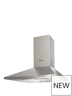 candy-cce1161x-60cm-chimney-hood-with-optional-installation-stainless-steel