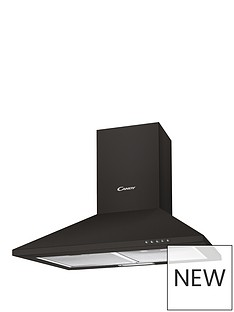 candy-cce1161n-60cm-chimney-hood-black-with-optional-installation