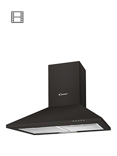 candy-cce1161n-60cm-chimney-hood-black