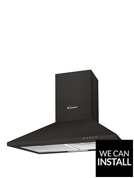 candy-cce1161n-60cm-chimney-hood-with-optional-installation-black