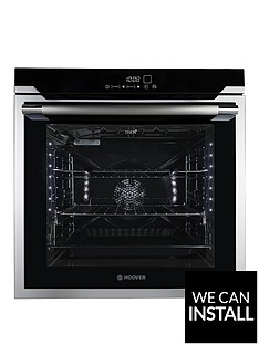 hoover-hoaz7173in-wifinbsp60cmnbspbuilt-in-electric-single-oven-with-optional-installation-black-glass