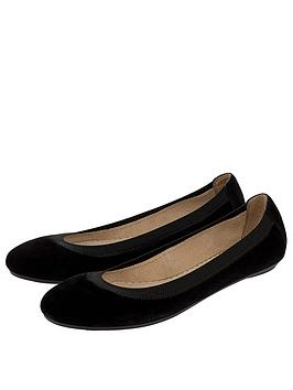 accessorize-elasticated-suede-ballerina-shoe-blacknbsp
