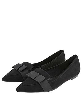 accessorize-chelsea-bow-pointed-loafer-black