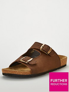 v-by-very-brown-leather-sandal