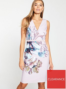 little-mistress-floral-printed-bodycon-dress