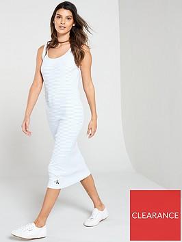 calvin-klein-jeans-rib-tank-dress