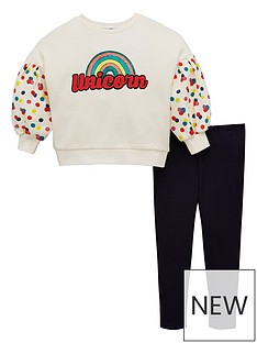 mini-v-by-very-girls-2-piece-glitter-unicorn-spot-sleeve-top-and-leggings-outfit-multi