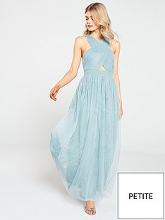 little-mistress-petite-petite-cross-front-maxi-dress-blue