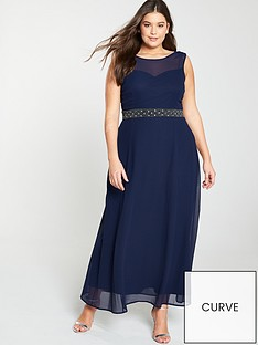 little-mistress-curve-beaded-waist-bridesmaid-maxi-dress-navy