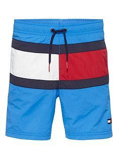 tommy-hilfiger-boys-flag-swim-shorts-blue