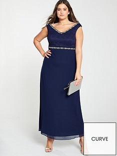 little-mistress-curve-beaded-maxi-dress-navy