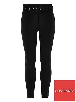 river-island-girls-ri-active-black-ponte-belted-leggings