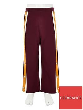 river-island-girls-burgundy-popper-side-jogger-trousers