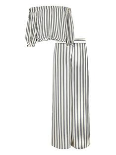 river-island-girls-stripe-bardot-tie-top-and-trouser-set