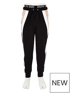 river-island-girls-ri-active-black-colour-block-joggers