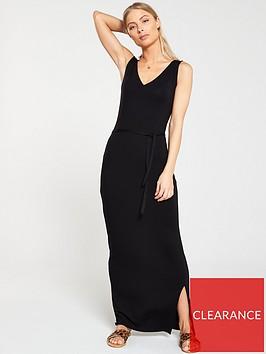 v-by-very-tall-wrap-split-jersey-maxi-dress-black