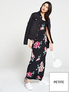 v-by-very-petite-petite-side-gather-jersey-maxi-dress