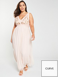 little-mistress-curve-embroidered-v-neck-maxi-dress-nude