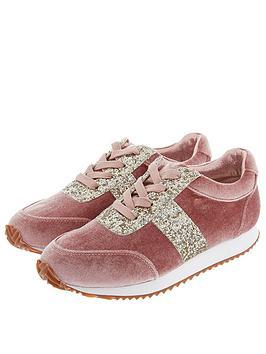 monsoon-girls-cora-velvet-glitter-lace-up-trainer