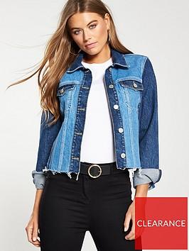 v-by-very-contrast-panel-denim-jacket-co-ordnbsp--mid-wash