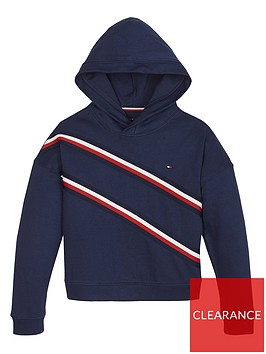 tommy-hilfiger-girls-flag-taped-hoodienbsp--navy