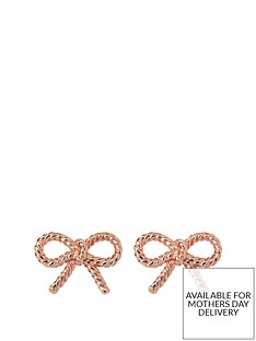 olivia-burton-olivia-burton-18k-rose-gold-plated-vintage-bow-stud-earrings
