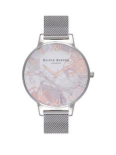 olivia-burton-olivia-burton-glasshouse-white-with-rose-gold-and-silver-detail-floral-big-dial-stainless-steel-mesh-strap-ladies-watch