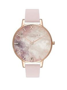 olivia-burton-olivia-burton-semi-precious-stone-and-rose-gold-detail-big-dial-blossom-leather-strap-ladies-watch